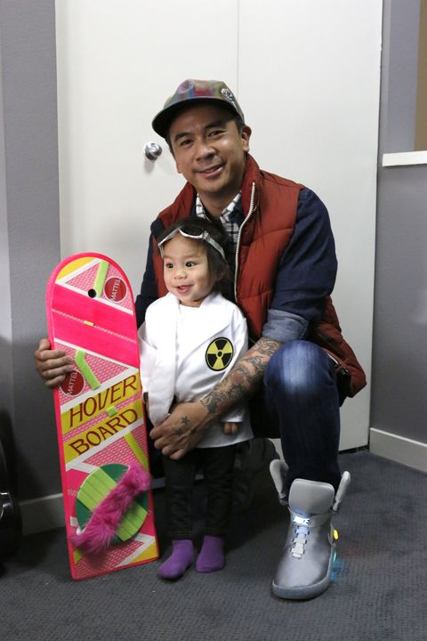 Marty McFly dad and Doc daughter