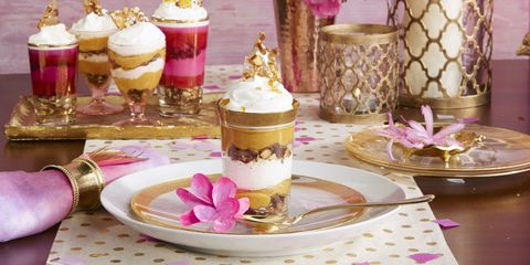 no bake pumpkin cheesecake mini trifles