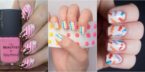 12 Candy Nail Art Designs Dessert And Food Nail Art Ideas