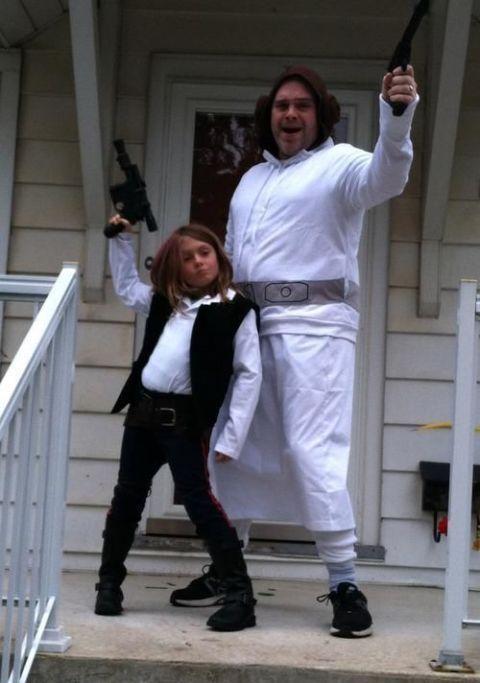 han solo daughter and princess leia dad