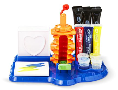 "<p><strong>Price:</strong> $25 (<em>on </em><a href=""http://www.amazon.com/Crayola-74-7092-Cling-Creator/dp/B00TFWP2XE"" target=""_blank""><em>Amazon.com</em></a>)<br><strong>Ages:</strong> 8+ </p><p>Whip up stickers that peel easily from smooth surfaces.</p>"