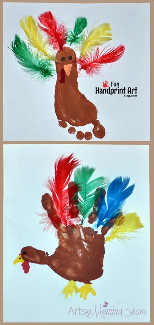 November Craft Ideas For Kids Part - 44: 33 Easy Thanksgiving Crafts For Kids - Thanksgiving DIY Ideas For Children