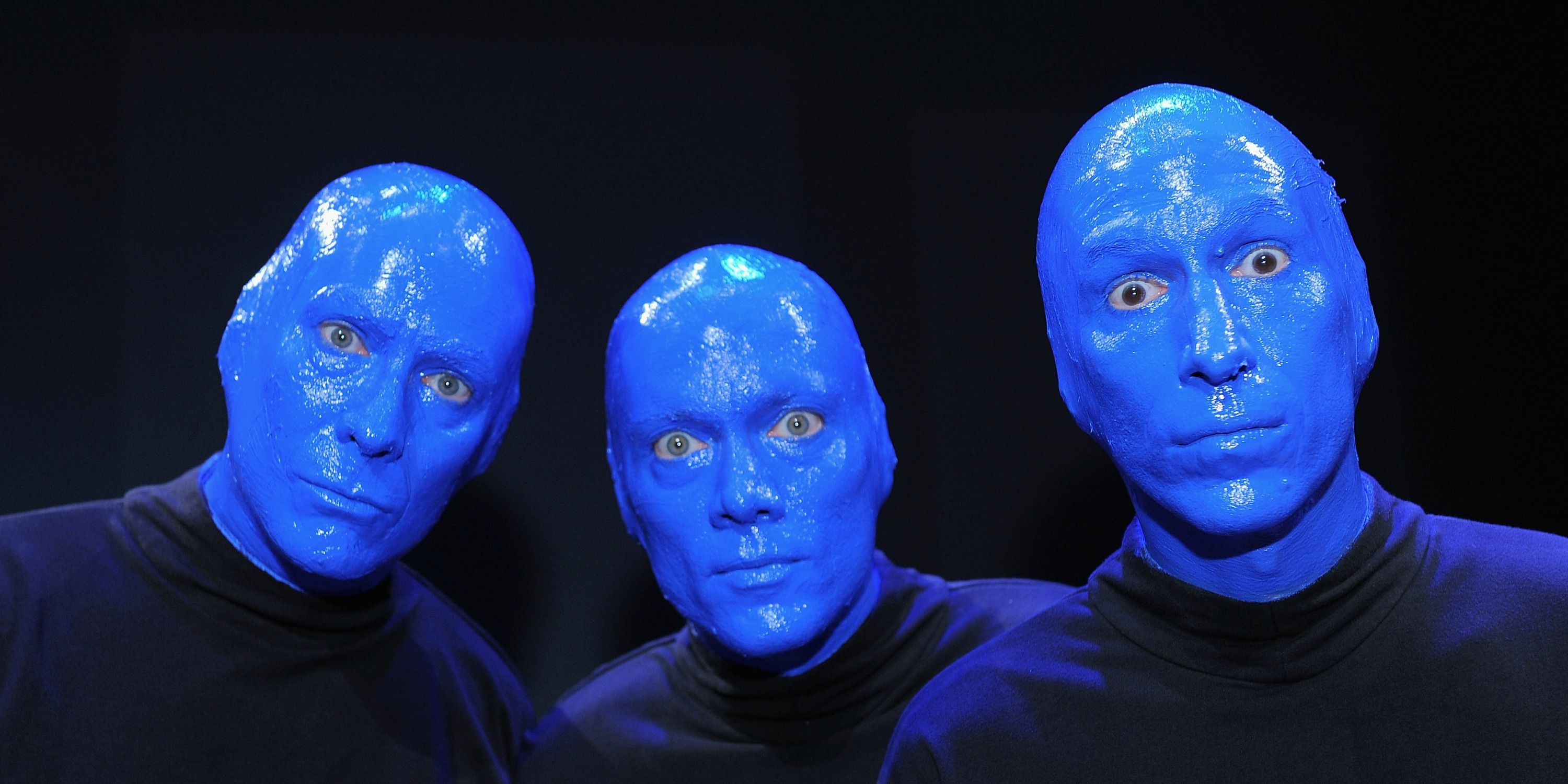 what the blue man group looks like without face paint blue man