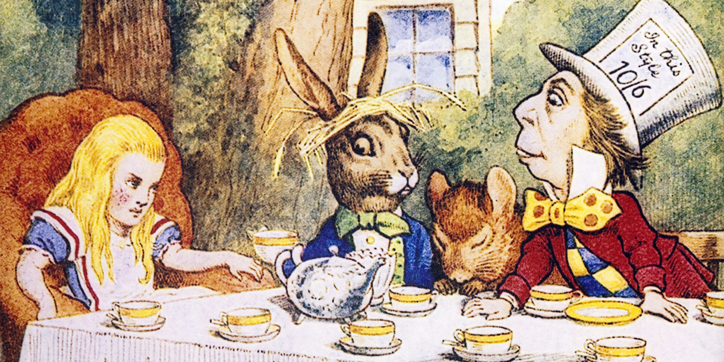71001b5d208 Surprising Facts About  Alice in Wonderland  -  Alice in Wonderland  Trivia
