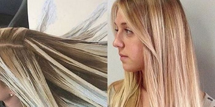 What Is Fluid Hair Painting The New Hair Coloring Technique