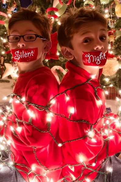Funny Christmas Card Ideas Silent Night