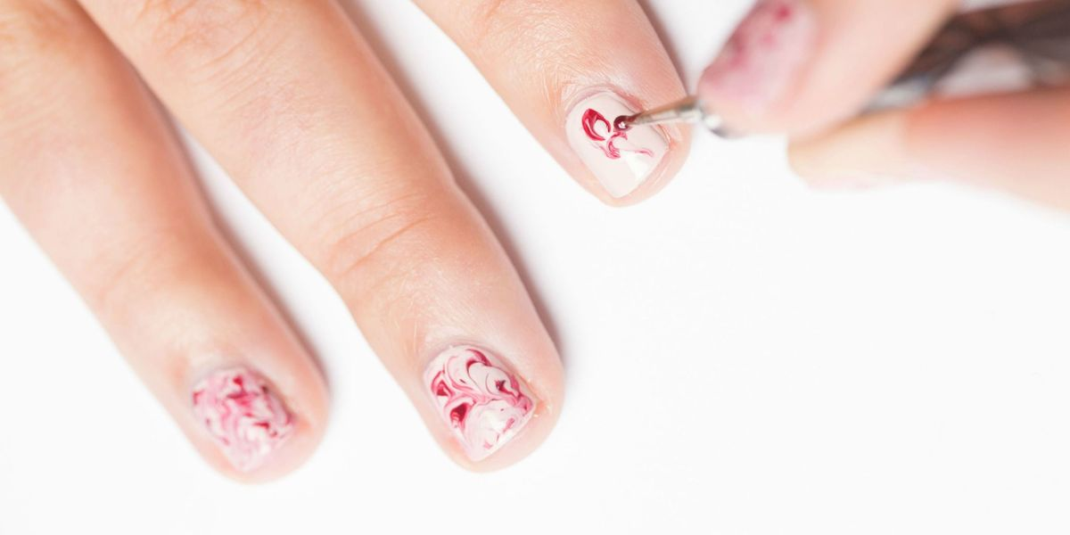 Marble Nail Art Tutorial How To Create Marble Nails