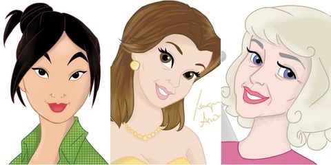 Disney Princesses Older