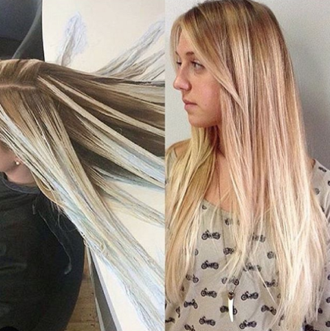 Hot New Hair Coloring Technique Pinwheel Color With Regard To Cool Short