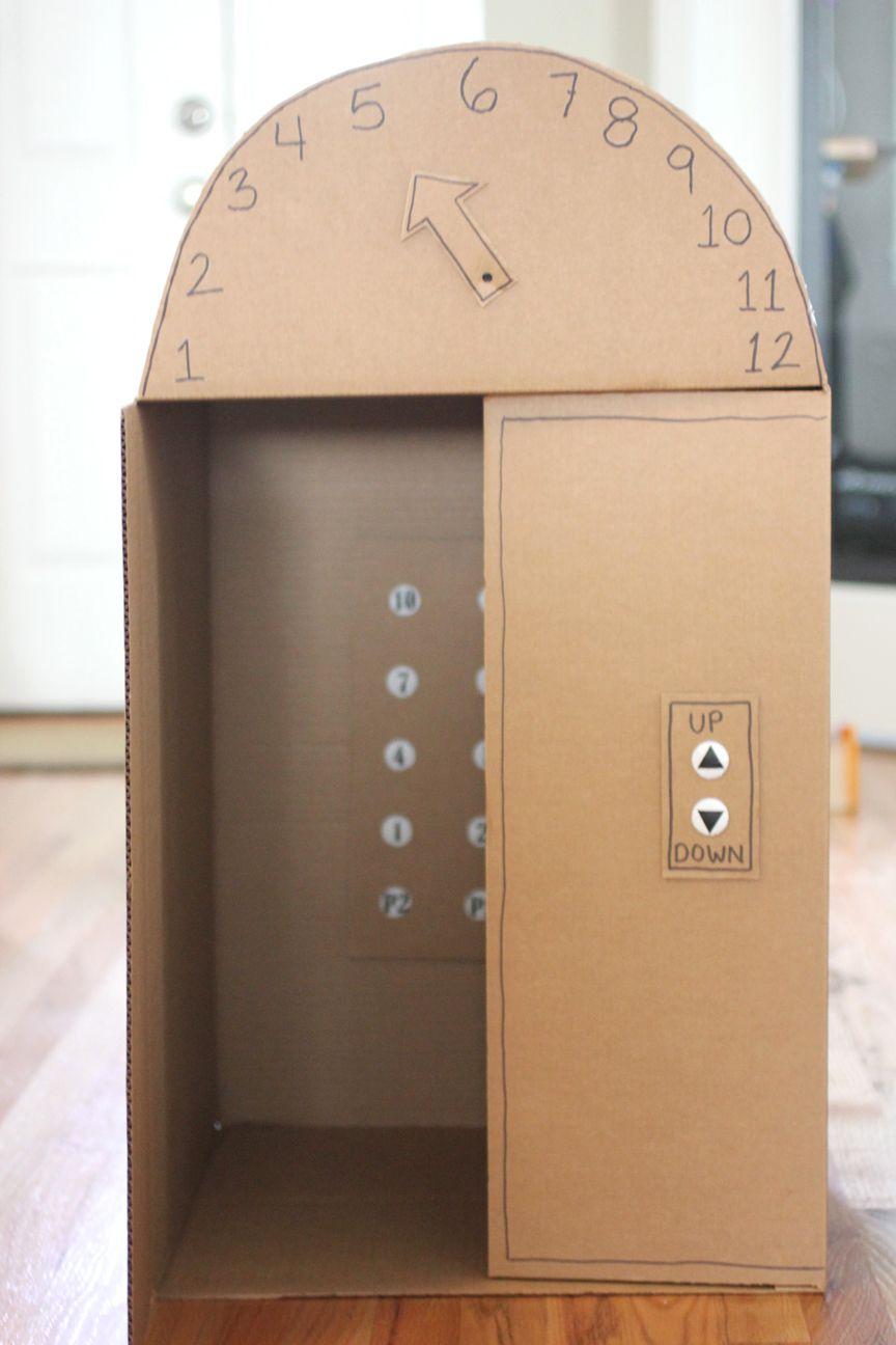 18 Cardboard Box Crafts To Make Kids