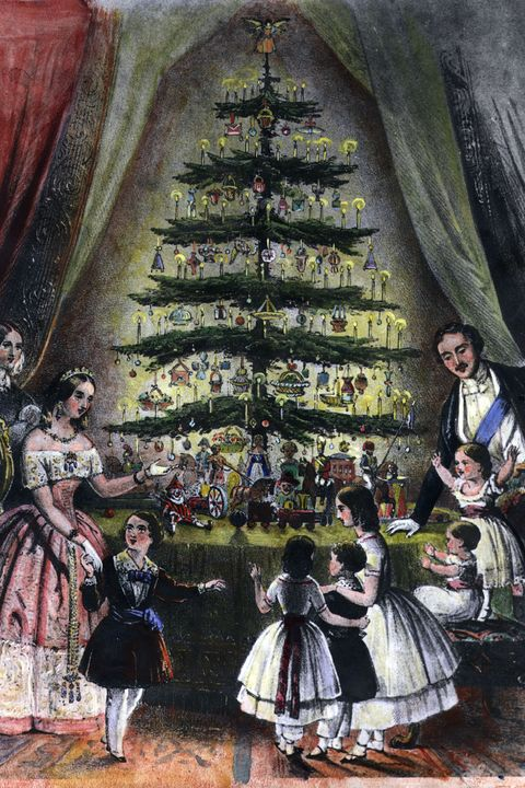 christmas facts - queen victoria and prince albert christmas tree