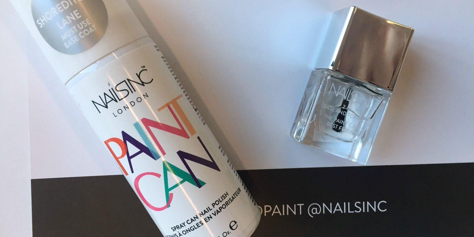 We Tried the New Spray-On Nail Polish by Nails Inc — Spray-On Nail ...