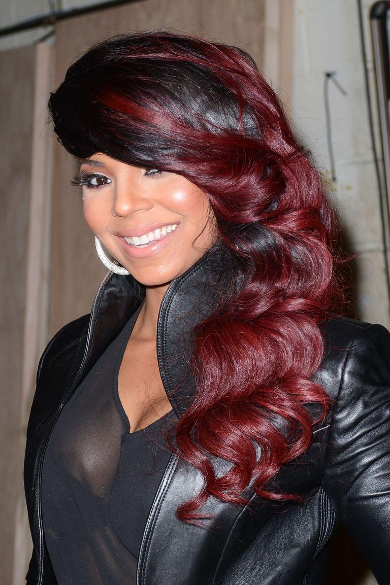 17 Burgundy Hair Color Ideas Celebrity Burgundy Hairstyles