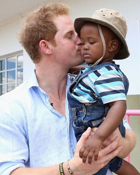 Prince Harry's Tour Of Lesotho And South Africa