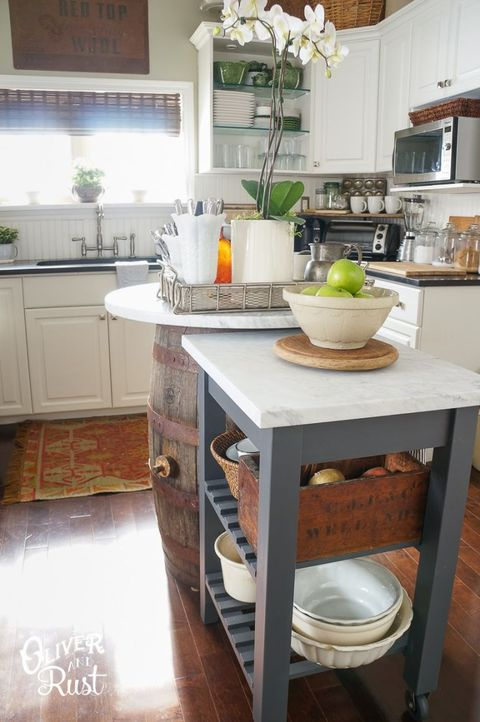 How To Create More Kitchen Counter E Tiny Ideas