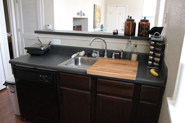 Kitchen Counter With Sink How to create more kitchen counter space tiny kitchen ideas workwithnaturefo