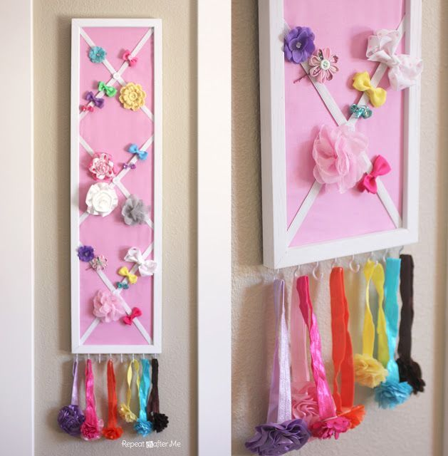 Delicieux How To Organize Hair Accessories   Storage Solutions For Bows And Headbands