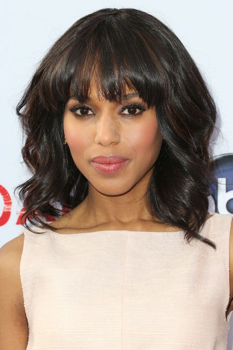 pretty easy hair styles 35 best hairstyles with bangs photos of 2963 | kerry washington bangs.jpg?crop=0