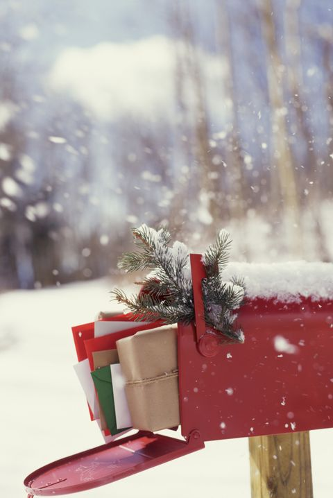 christmas facts  christmas mailbox