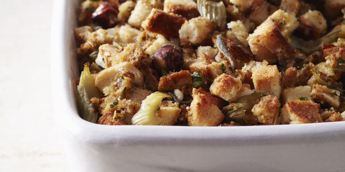 Turkey Stuffing Recipe Traditional Bread Stuffing With
