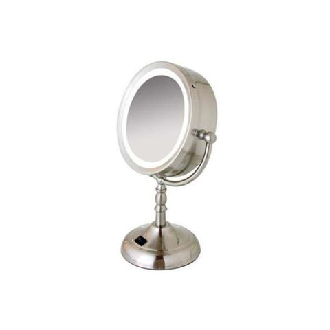 "<p>The bright fluorescent light mimics natural light — optimal for putting on make-up. Testers found that the mirror swiveled easily, and they appreciated the base's outlet, which can power other devices. Has a 7.5-inch mirror and magnifies to 8X. </p><p><em><strong>Floxite Daylight Lighting Cosmetic Mirror FL-81FMV, $70 at <a href=""http://www.amazon.com/Floxite-Daylight-Lighting-Cosmetic-Mirror/dp/B00CISJ68O"" target=""_blank"">Amazon.com</a></strong></em></p>"