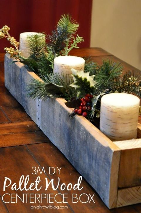 Wood Christmas Decorations.12 Christmas Pallet Projects Christmas Pallet Ideas