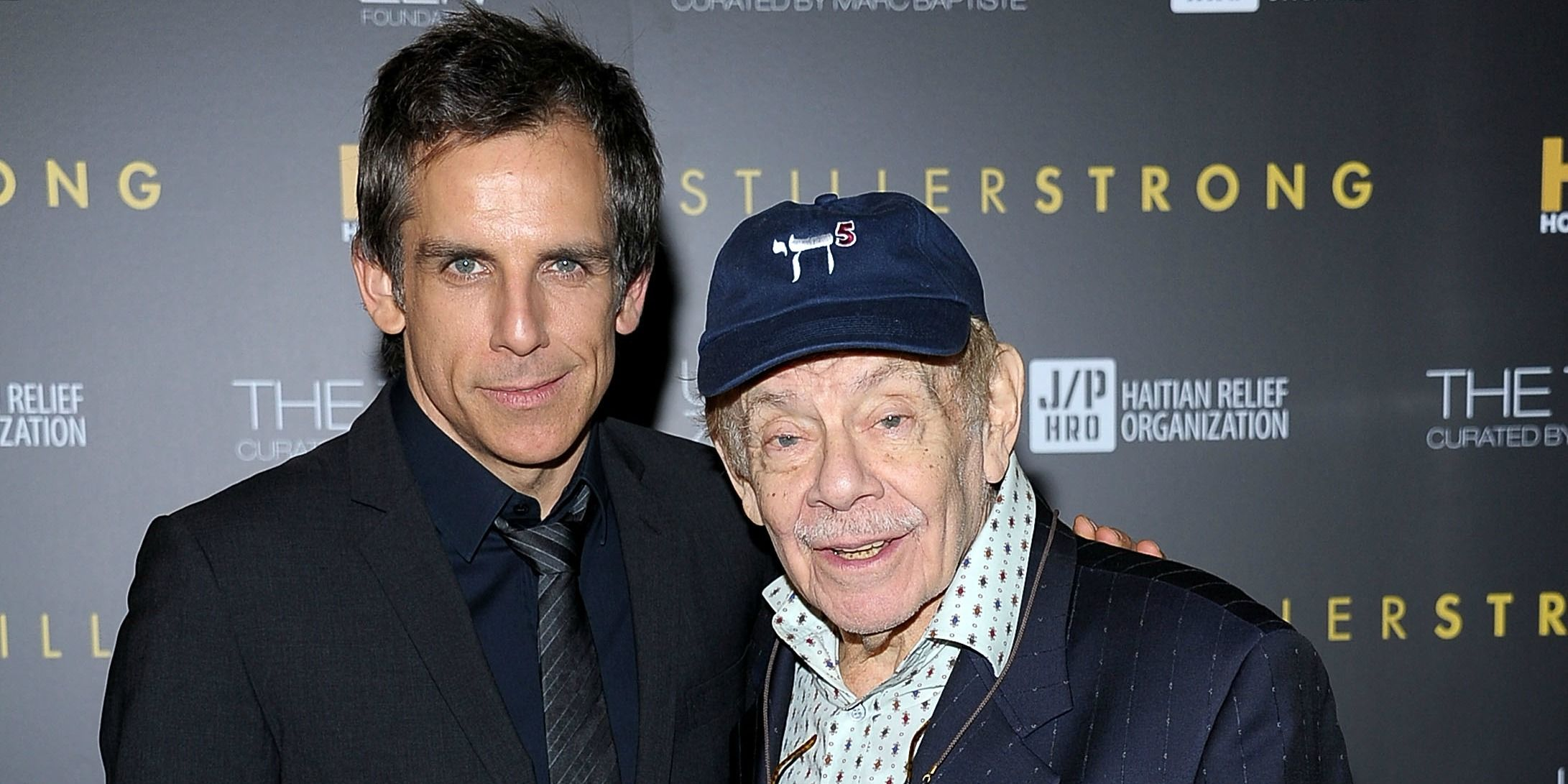 Young Ben Stiller With Jerry Stiller in the 1970s — Ben Stiller ...