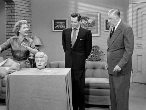 Lucy and Ethel practical jokes