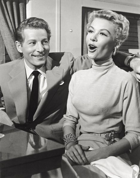 actors vera ellen and danny kaye in a scene from the movie white christmas - Actors In White Christmas