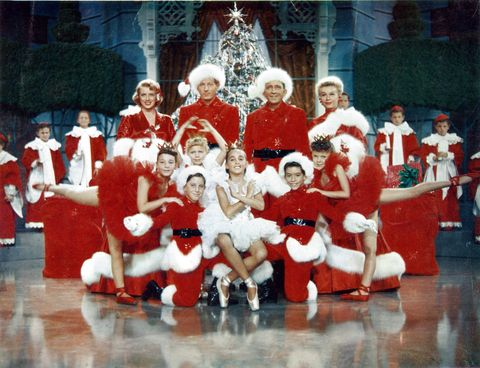 white christmas finale scene bing crosby rosemary clooney danny kaye vera ellen - How Old Was Bing Crosby In White Christmas
