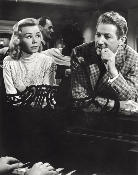 vera ellen and danny kaye in a scene from the movie white christmas - Black And White Christmas Movie