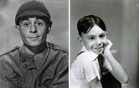 Portrait of Carl Switzer as Alfalfa forThe Little Rascals series, originally know as Our Gang. Image dated January 1, 1936.