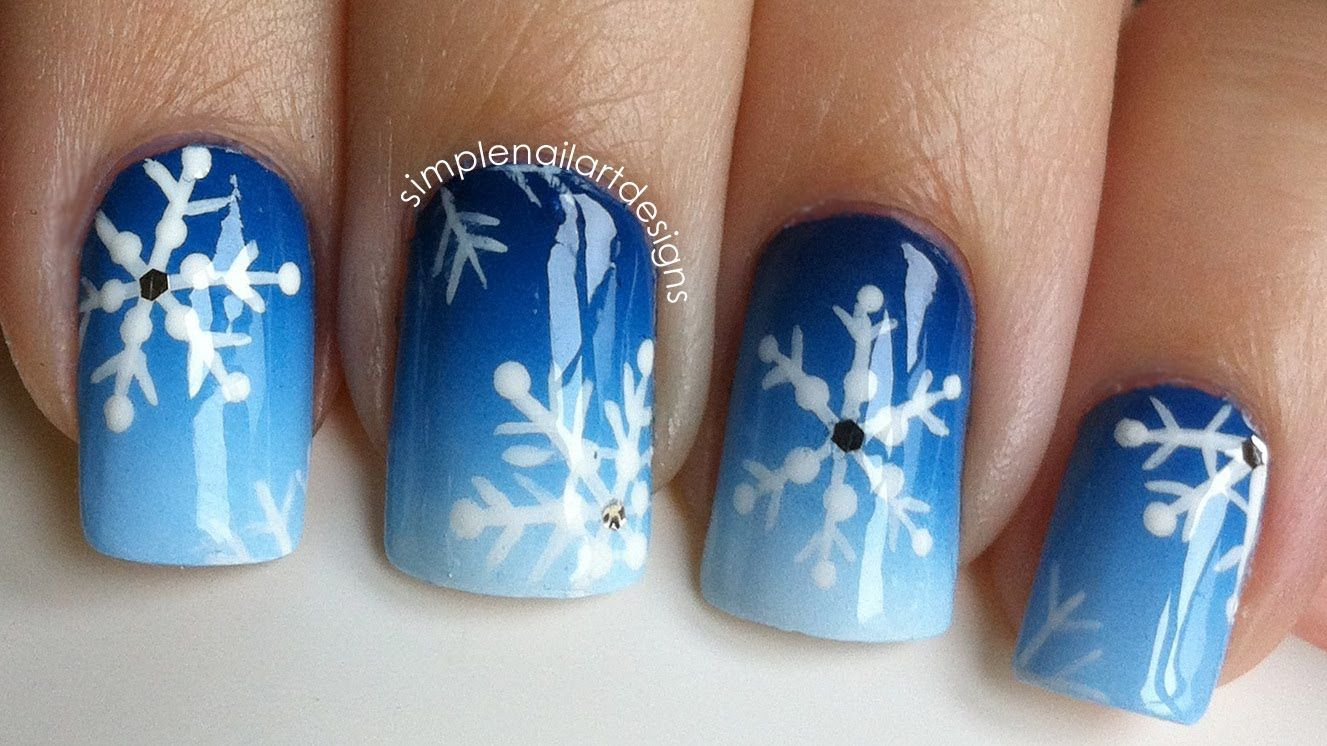 16 Winter Nail Art Ideas Designs For New Year S And Holiday Nails