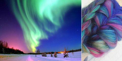 Aurora Borealis Hair