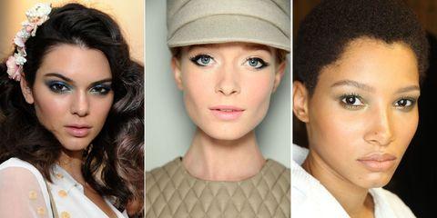 Eyeliner Trends - Models on Runway