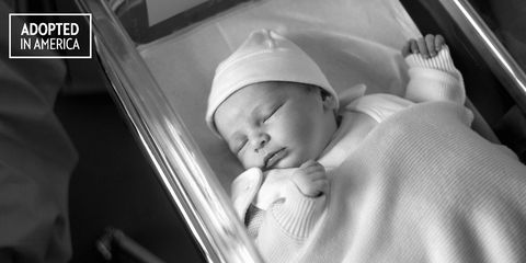 newborn baby adopted in hospital