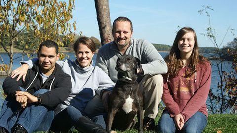 Stacey and Fulvio Padova with Hanna and Jose