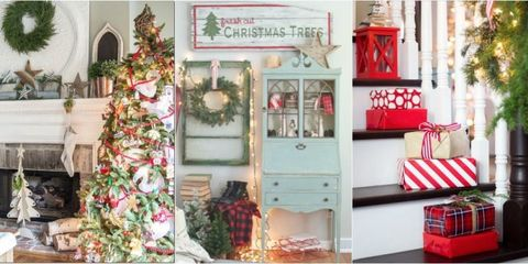 Christmas Home Decor.Christmas Decor Ideas Bloggers Christmas Home Tours
