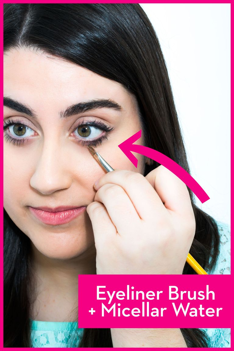 16 eye makeup tips you need to know easy eye makeup tricks weve all been there youve just finished doing your eye makeup it looks perfect and then you sneeze and there it is the dreaded smudge baditri Choice Image