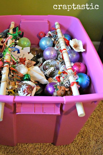 Christmas Decoration Storage Ideas - How to Store Fake ...