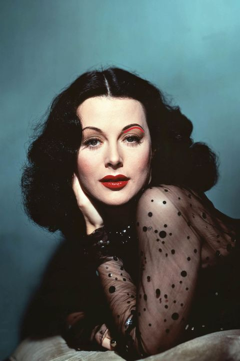 """<p>The angle-free advantage: <strong>Curved brows make you look decadently relaxed all the time,</strong> even if you're a HBIC under mega-pressure. And in the case of screen star Hedy Lamarr, the shape softens her face. """"She has raven black hair and a strong forehead and jaw,"""" Scott notes. """"Pointy brows would look very sharp and hard on her.""""</p>"""
