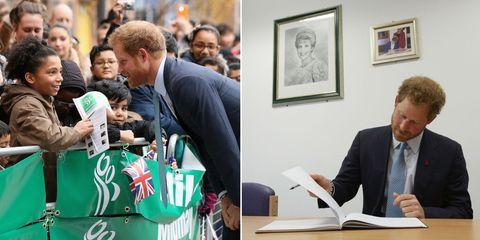 Prince Harry Visits Mildmay Hospital