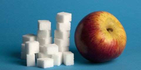 Fruit and Sugar Cubes