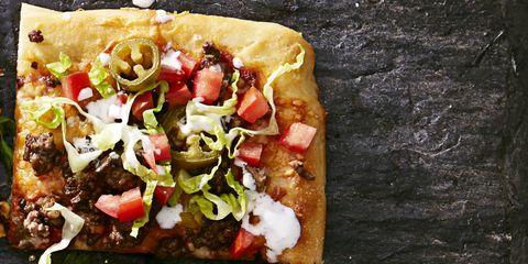 Tex Mex Taco Pizza