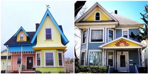 Colorful Houses on Instagram