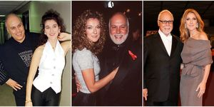 Celine Dion and Rene Angelil romance through the years