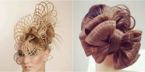 Brown, Hairstyle, Style, Beauty, Hair accessory, Liver, Blond, Fawn, Headpiece, Braid,