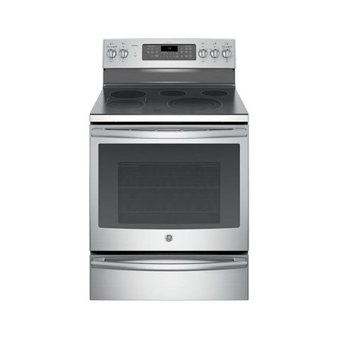 Ge Profile Series 30 Free Standing Electric Convection Range With Warming Drawer Pb930sjss
