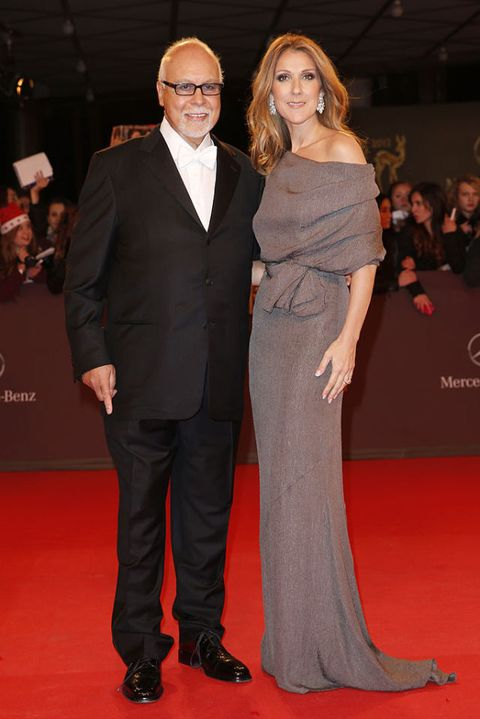 DUESSELDORF, GERMANY - NOVEMBER 22: Celine Dion and Rene Angelil attend the 'BAMBI Awards 2012' at the Stadthalle Duesseldorf on November 22, 2012 in Duesseldorf, Germany.