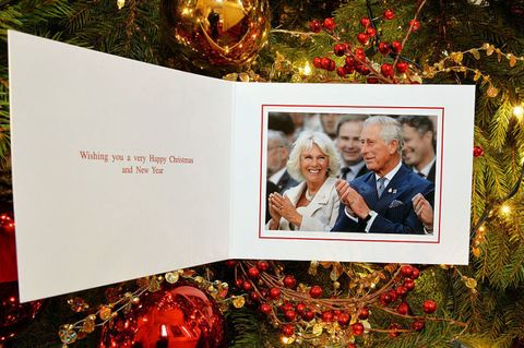 the personal christmas card produced for camilla duchess of cornwall and prince charles prince